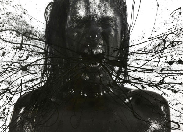 photographie d'art série noire